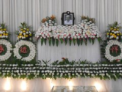 殡仪馆礼厅布置